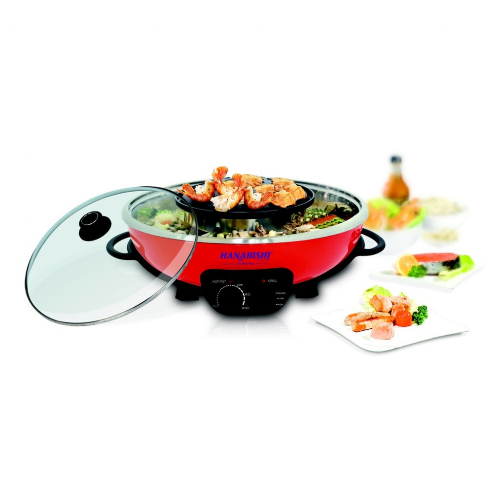 Hanabishi Steamboat with Grill HA3938SB