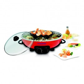 image of Hanabishi Steamboat with Grill HA3938SB