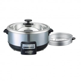 image of Hanabishi Multi Cooker 3.8L Stainless Steel Bowl (with Steamer) HA1600S