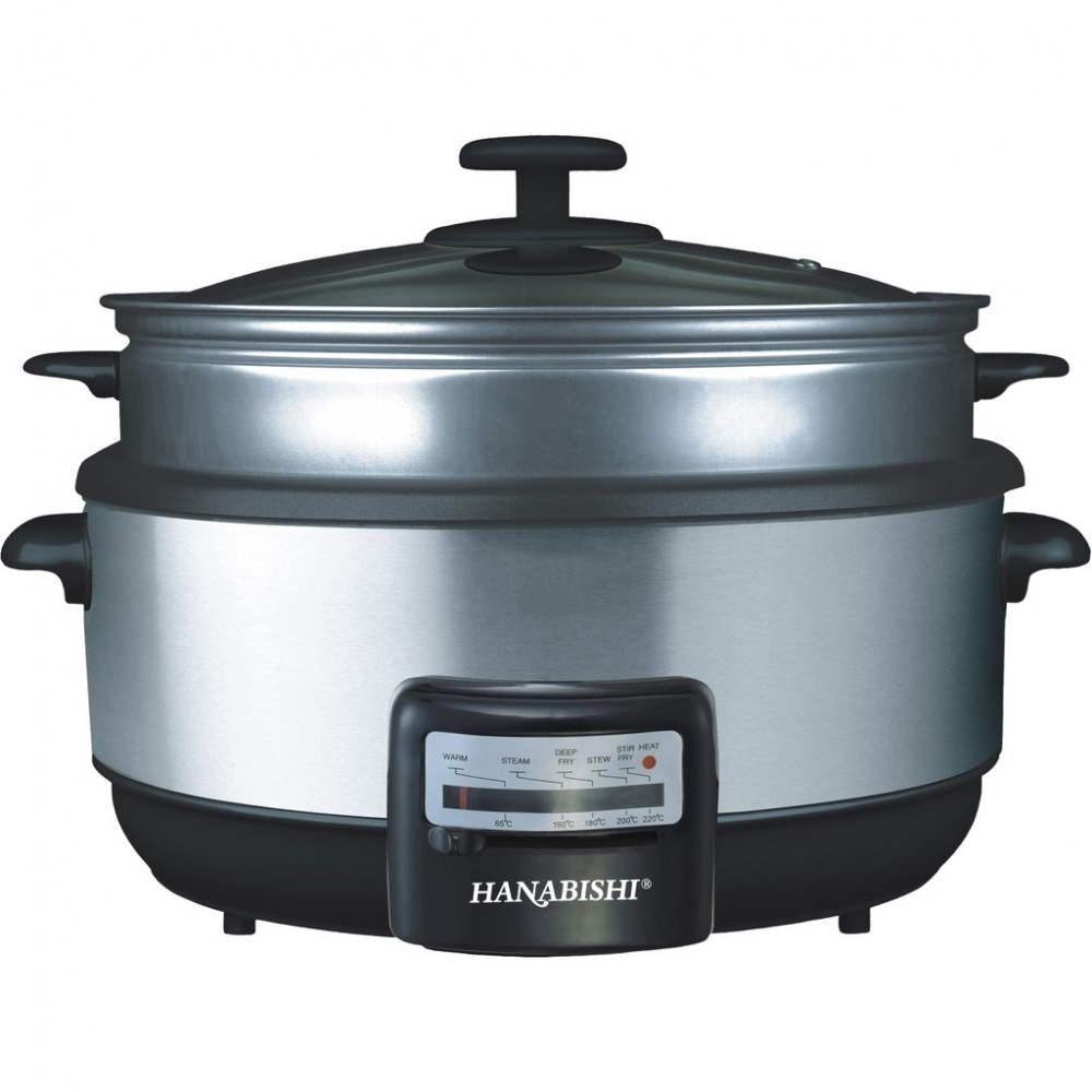 Hanabishi Multi Cooker 3.8L Non-Stick Bowl (with Steamer) HA1600