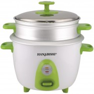 image of Hanabishi 1.0L Rice Cooker with Steamer HA3699STM