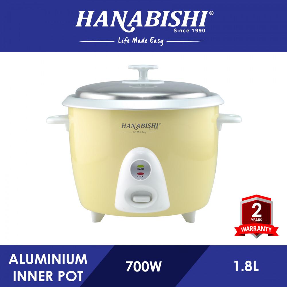 Hanabishi Rice Cooker 1.8L HA3698R