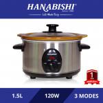 Hanabishi Slow Cooker 1.5L HA1155A