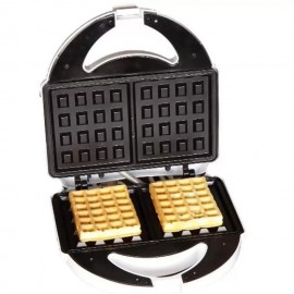 image of Hanabishi 2 Slices Non-Stick Waffle Maker HA5638 (White)