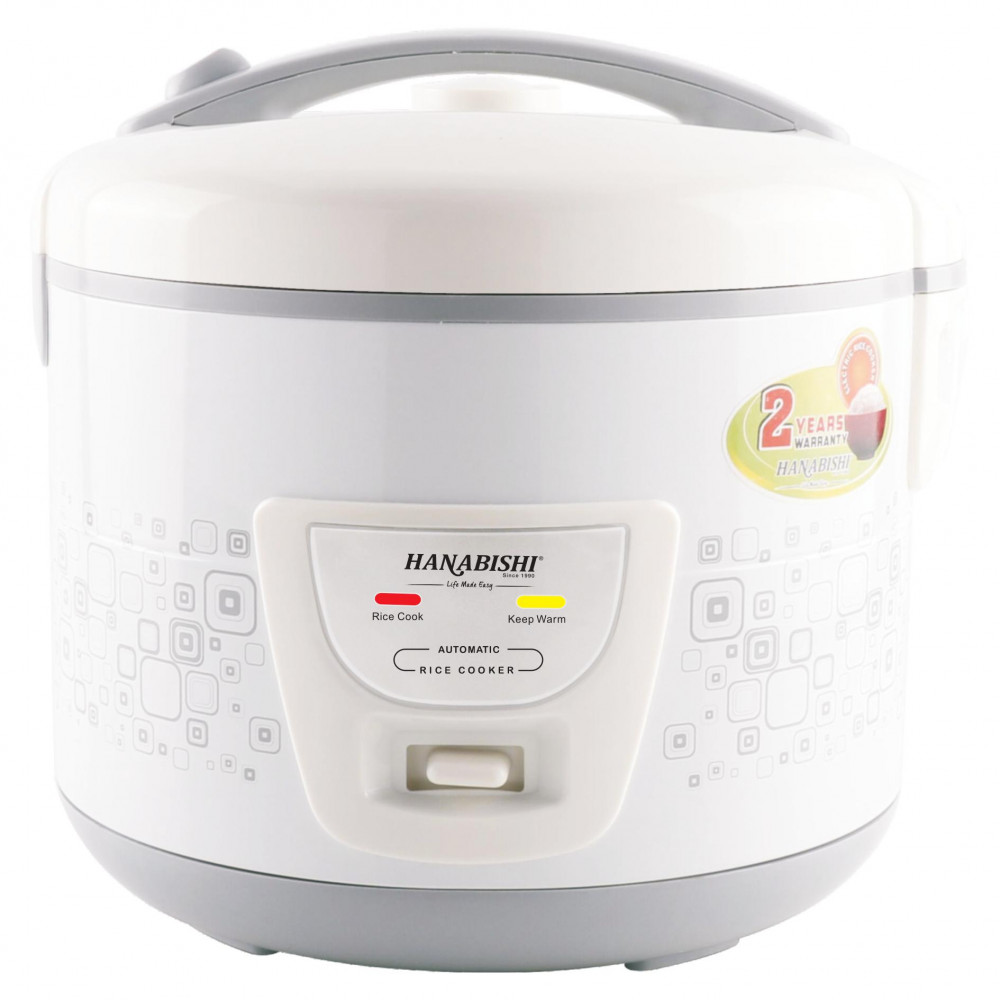 Hanabishi Deluxe Jar Rice Cooker 1.5L HA6122J [FREE Steamer]