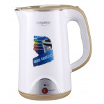 Hanabishi Double Layer Cool Touch Electric Kettle 1.7L  (BEIGE)