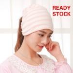 Topfine Stripe Beanies Hat Skullies Windproof Maternity Cap Pregnant Mother Caps