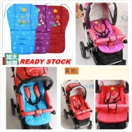 image of READY STOCK Universal Kids Baby Cotton Cartoon Sided Stroller Seat Pad Cushion