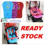 READY STOCK Universal Kids Baby Cotton Cartoon Sided Stroller Seat Pad Cushion