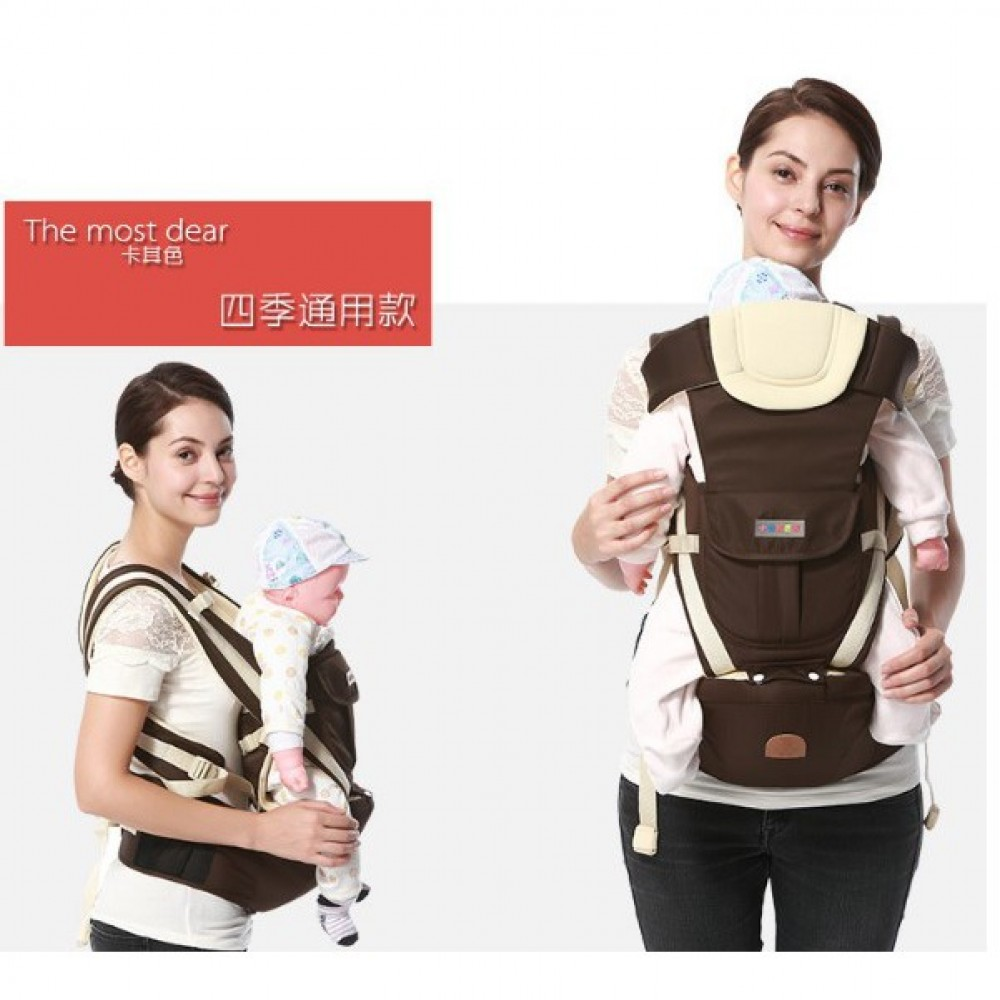 bcfd36befe2 READY STOCK Baby Carrier Ergonomic Adjustable Newborn Baby Backpack Front  Carry