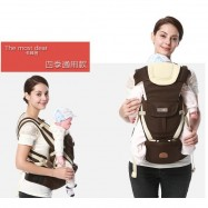 image of READY STOCK Baby Carrier Ergonomic Adjustable Newborn Baby Backpack Front Carry