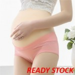 (READY STOCK) Maternity Panty Cotton Low Waist Pregnant Women U-Shaped Underwear