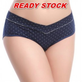 image of READY STOCK Cotton Maternity Panty Low Waist Pregnant Women U-Shaped Underwear