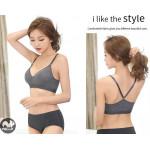 (Ready Stock) Yoga Run Exercise Training Sports Bra Gym Fitness Lady Women Strap Adjustable Tops