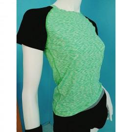 image of READY STOCK Women Quick Dry Sportwear Sport Shirt Fitness Yoga Gym Shirt T-Shirt