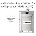 AMC Carbon Block (White) for AMC product (Made in USA) water filter