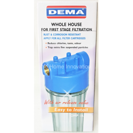 image of DEMA Whole House Water Filter (Housing)