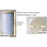 Ultra Clean Carbon Block (White) Made in USA