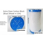 Extra Clean Carbon Block (Blue) (Made in USA)