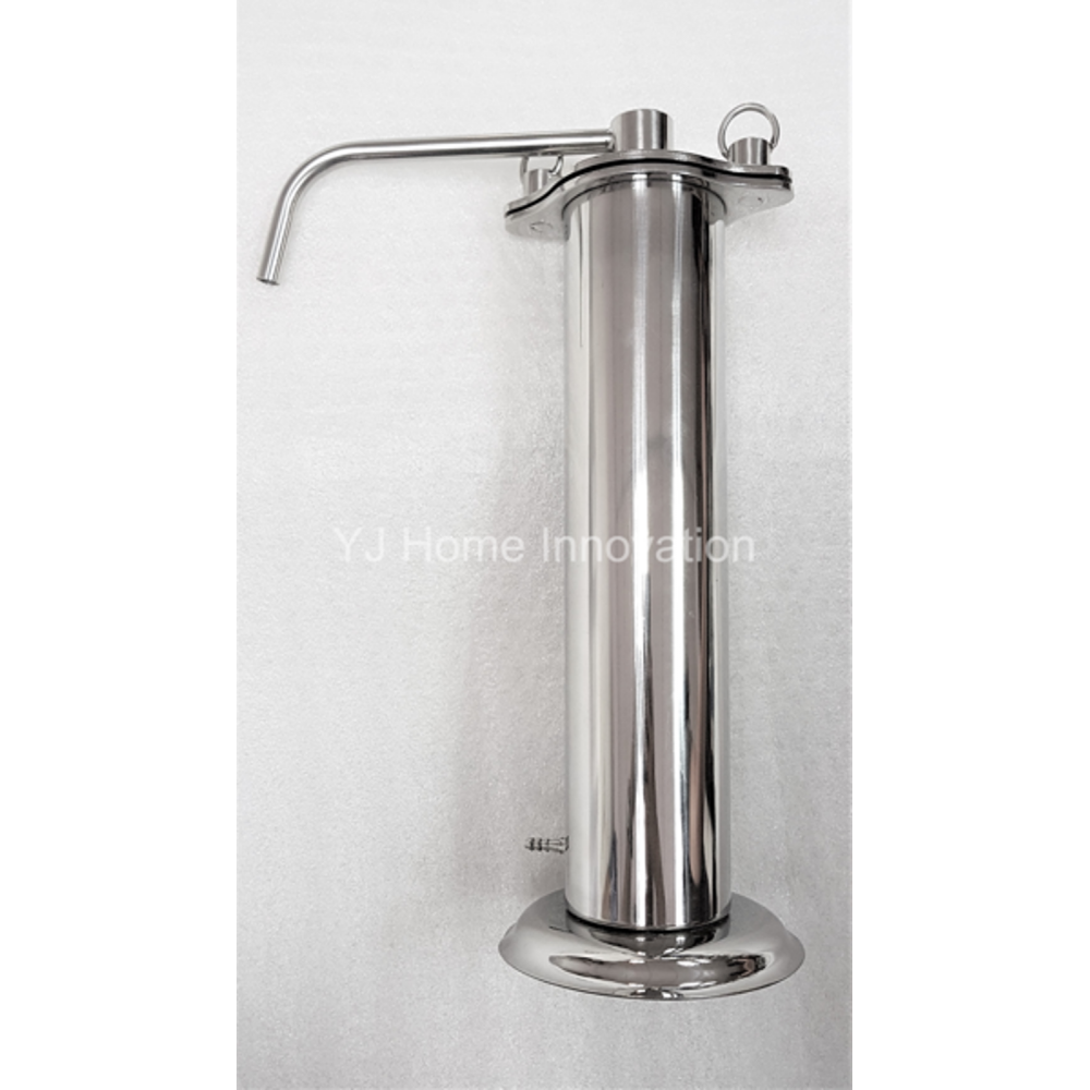 Super Thin Portable Stainless Steel Water Filter with/without Doulton Candle