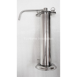 image of Super Thin Portable Stainless Steel Water Filter with/without Doulton Candle