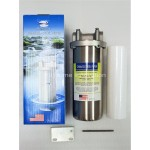 "10"" Stainless-steel Heavy-duty water filter housing (Made in USA) sediment/2step"