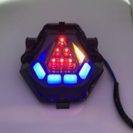 image of Yamaha Y15ZR R25 LC150 MT09 LED Tail Lamp Blue / Red Signal Lamp Brake Light