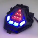 Yamaha Y15ZR R25 LC150 MT09 LED Tail Lamp Blue / Red Signal Lamp Brake Light