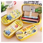 Korea Style Big Capacity Minion Pencil Cases / Bags