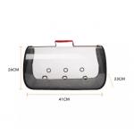 Foldable Transparent Pet Carrier Bags / Travel Pet Bags