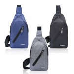 Fashion Men's Chest Canvas Chest bag / waist bag / sling bag Ready Stock