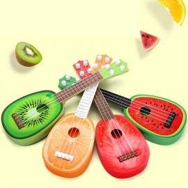 image of Cartoon Fruit Shape Guitar