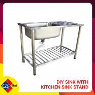 image of DIY Sink with Kitchen Sink Stand