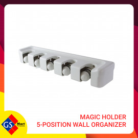 image of MAGIC HOLDER 5-POSITION WALL ORGANIZER