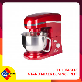 image of THE BAKER STAND MIXER ESM-989 RED