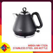 image of Midea MK-17S26 Stainless Steel Jug Kettle