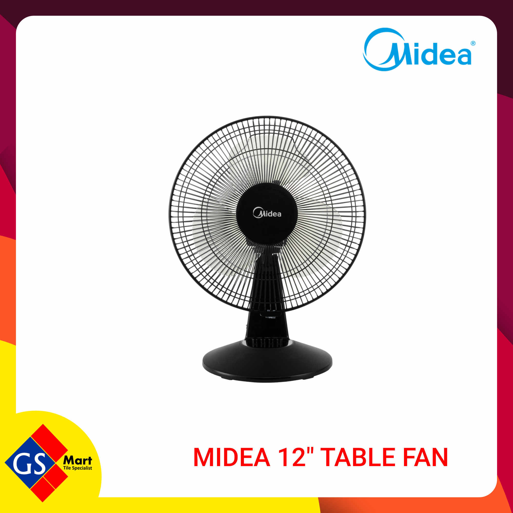 """MIDEA 12"""" TABLE FAN"""