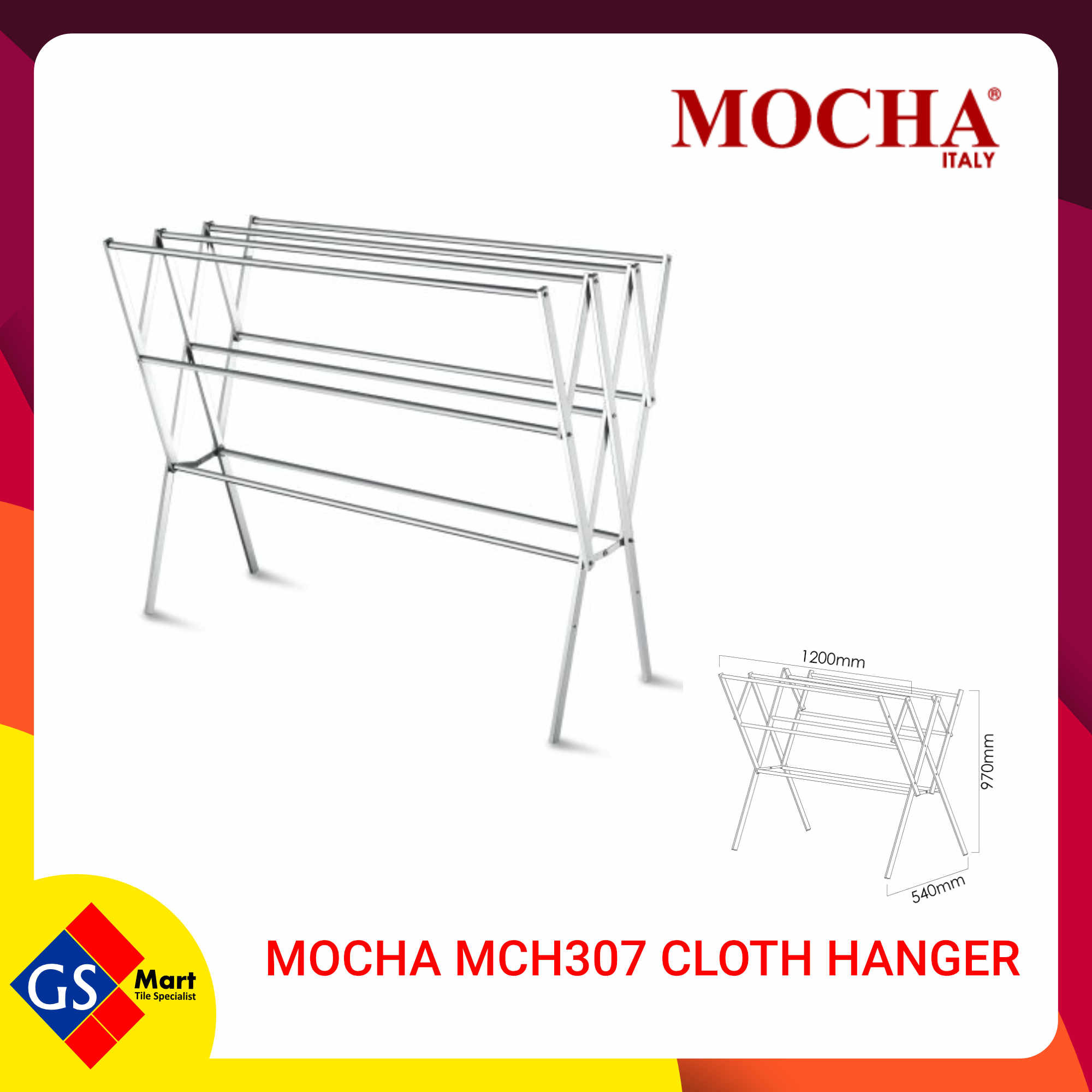 MOCHA MCH307 CLOTH HANGER