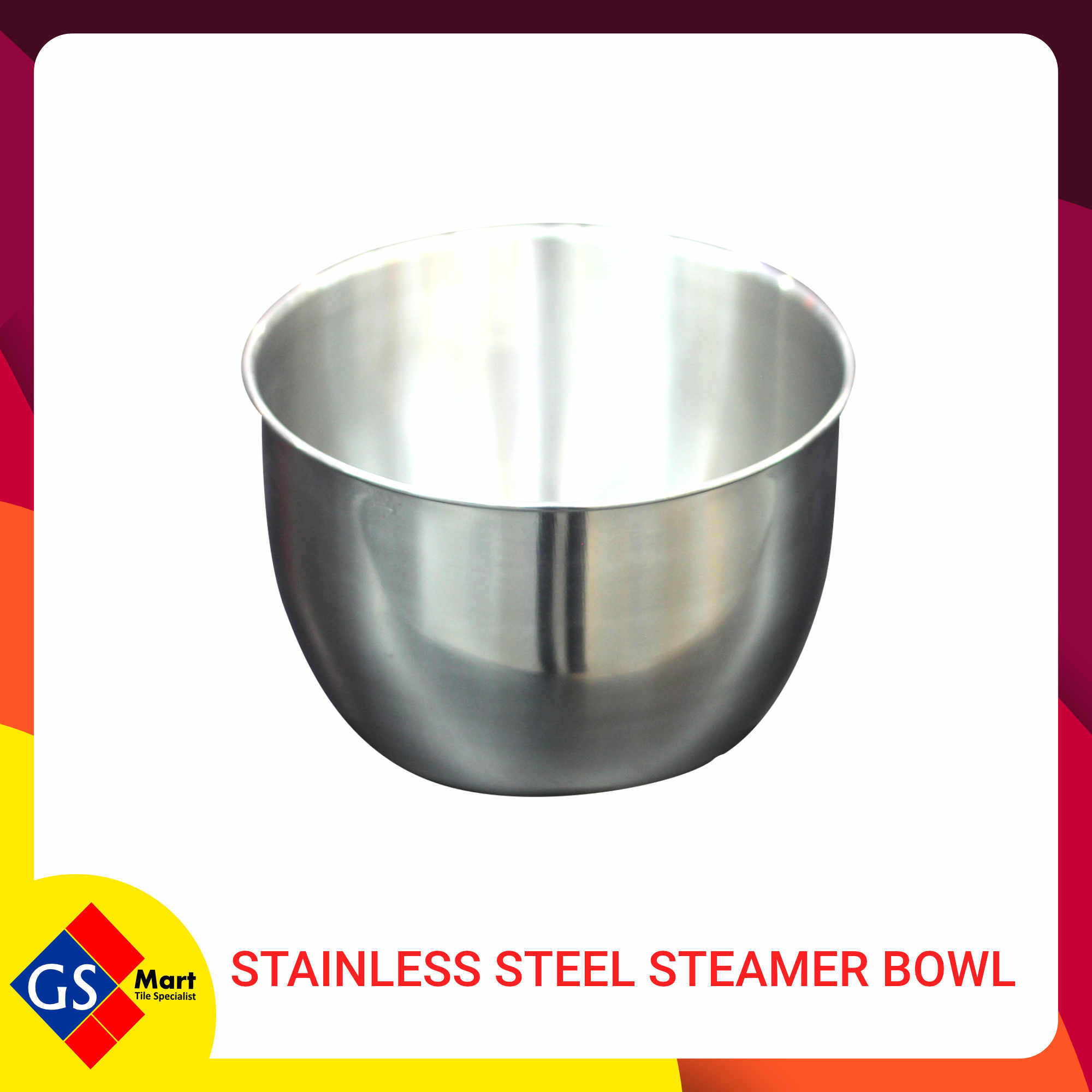 image of STAINLESS STEEL STEAMER BOWL