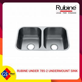 image of RUBINE UNDER 785-2 UNDERMOUNT SINK