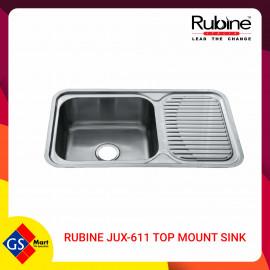 image of RUBINE JUX-611 TOP MOUNT SINK