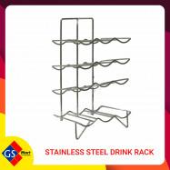 image of STAINLESS STEEL DRINK RACK