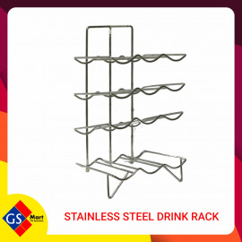 image of STAINLESS STEEL DRINK RACK