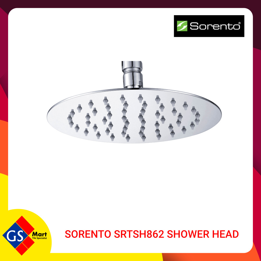 Sorento SRTSH862 Round Stainless Steel 304 Shower Head