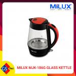 MILUX MJK-186G Glass Kettle