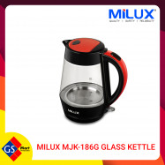 image of MILUX MJK-186G Glass Kettle