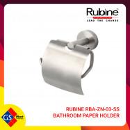 image of RUBINE RBA-ZN-03-SS BATHROOM PAPER HOLDER