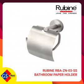 image of RUBINE RBA-ZN-03-SS BATHROOM PAPER HOLDER