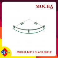 image of MOCHA M311 GLASS SHELF