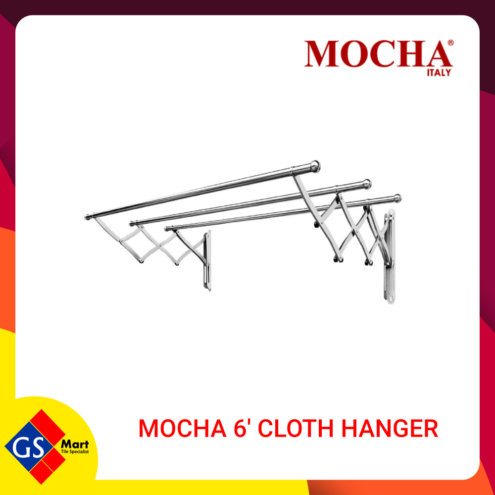 MOCHA 6' CLOTH HANGER